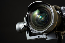 Close-up Of Wide Angle Lens In...