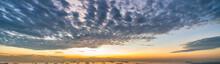 Wide Panorama Of Cirrocumulus ...