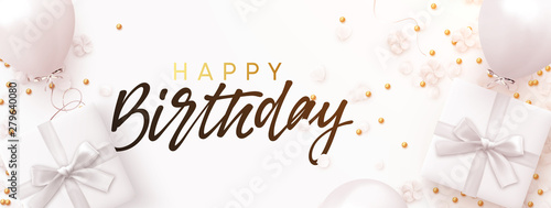 Photo Happy birthday banner