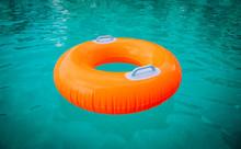 Kids Floatie In The Pool, Wate...