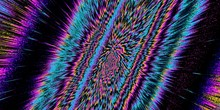 Psychedelic Background. Fluore...