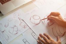 Production Designer Sketching ...
