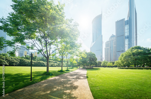 Green Space, Lujiazui Central, Shanghai, China