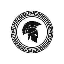 Vector Illustration Of Spartan...