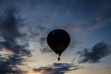 Flying Balloon With Passengers...