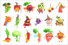 Silly Fantastic Fruit And Vege...