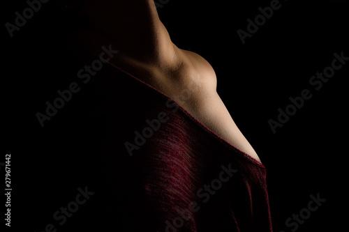 Obraz Nude women in sensual light - fototapety do salonu
