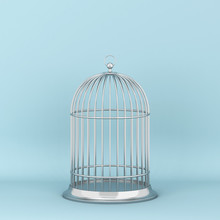 Closed Decorative Bird Cage