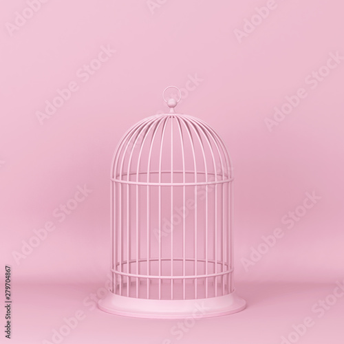 Fotografie, Obraz  Closed decorative bird cage