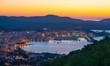 Santa Eulalia Eularia des Riu skyline Ibiza