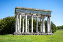 Temple Of Concord In The Park Of Audley End House, Saffron Walden CB11 4JF, UK 15th Of June 2019