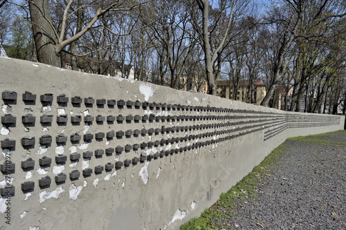 Fotomural  Wall In memory of the Jews
