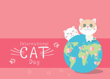 International Cat Day Design O...