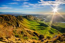 Sunrise At Te Mata Peak, New Z...