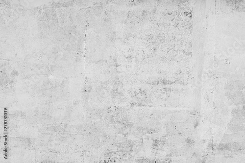 Cadres-photo bureau Mur wall white background concrete, stone grunge surface dirty old rough abstract backdrop blank for design