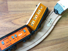 電車の脱線事故
