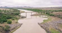 A Concrete Bridge Over The Mig...