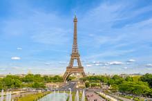 Eiffel Tower, The Tallest Structure In Paris