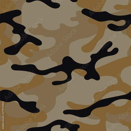 Photo  Military camouflage seamless pattern