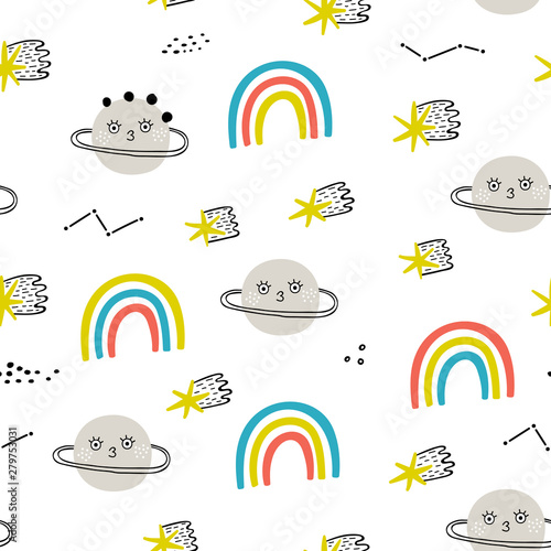 seamless-pattern-with-planets-raibows-and-stars-perfect-for-kids-fabric-textile-nursery-wallpaper-fantastic-background