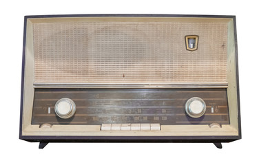Vintage radio receiver - an...