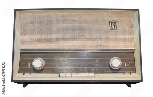 Vintage radio receiver - an...