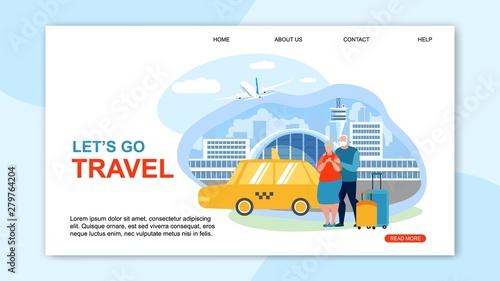 Valokuvatapetti Informational Flyer is Written Lets Go Travel.