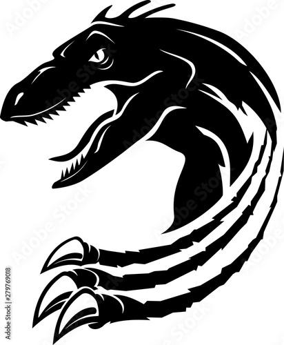 Photo  Raptor Dinosaur Rip Abstract