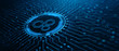 Leinwanddruck Bild - Automation Software Technology Process System Business concept