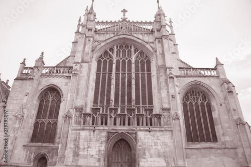 Fotografie, Obraz Facade of Gloucester Cathedral; England; UK
