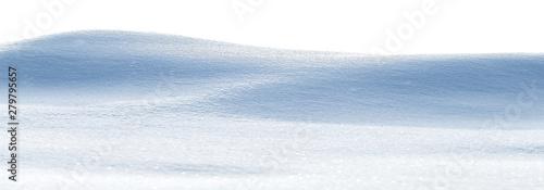 Fotografie, Tablou Snowy white clean snow texture