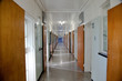 Prison corridor at former prison at Robben Island South-Africa