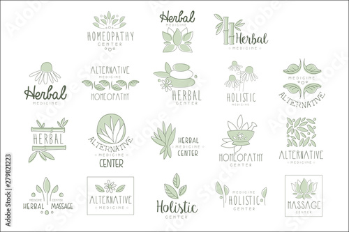 Photo  Alternative Medicine Center With Oriental Herbal Treatment And Holistic Massage