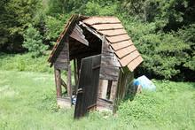 Baufällige Hütte