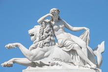 Old Statue Of Sensual Renaissa...