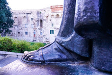Entrance To Diocletian's Palace In Split, Croatia