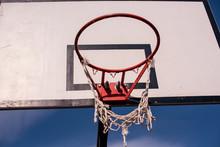Close Up Shot Of Basketball Ho...