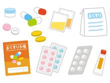 処方薬とおくすり手帳
