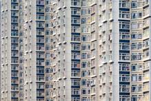 Apartment Block Towers In Tin Shui Wai, Yuen Long District, New Territories, Hong Kong, China