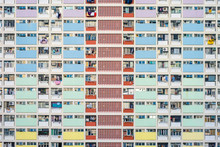 Choi Hung Estate, One Of The Oldest Public Housing Estates In Hong Kong, Wong Tai Sin District, Kowloon, Hong Kong, China