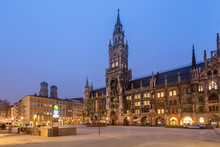 New City Hall Or Neues Rathaus...