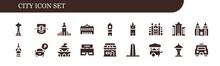 City Icon Set