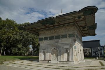 Fototapeta na wymiar historic istanbul fountains