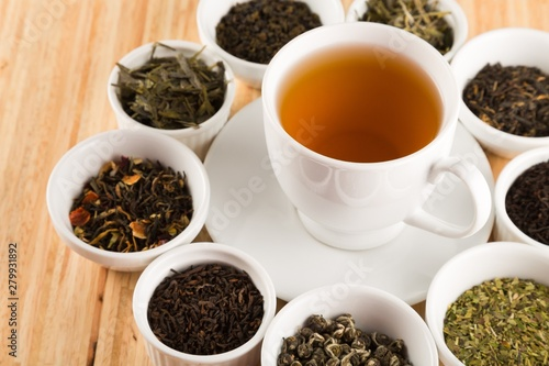 Poster Pays d Asie Herbal tea