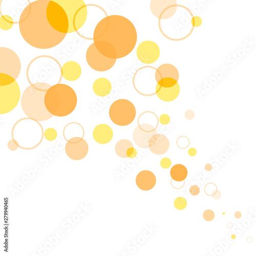 ドット 水玉 水玉模様 ドット柄 抽象的 滲み 水彩 Canvas Print