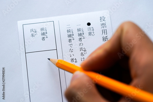 Fotografia, Obraz 選挙・投票
