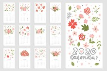 Calendar 2020. Cute And Creati...