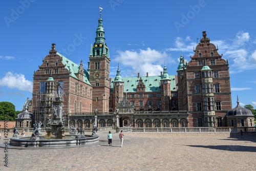 Poster Antwerp The castle of Frederiksborg at Hillerod on Denmark