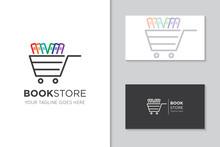 Book Logo For Icon Vector Illustration Design Template