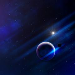 science fiction space art